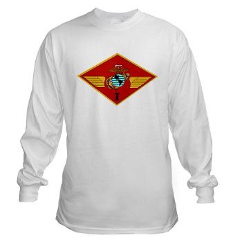 1MAW - A01 - 03 - 1st Marine Aircraft Wing with Text - Long Sleeve T-Shirt
